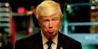 Sr. Presidente, aquí está su Emmy: Baldwin a Trump