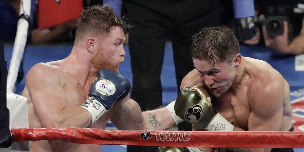 'Canelo' Álvarez y Gennady Golovkin empatan en tremenda pelea