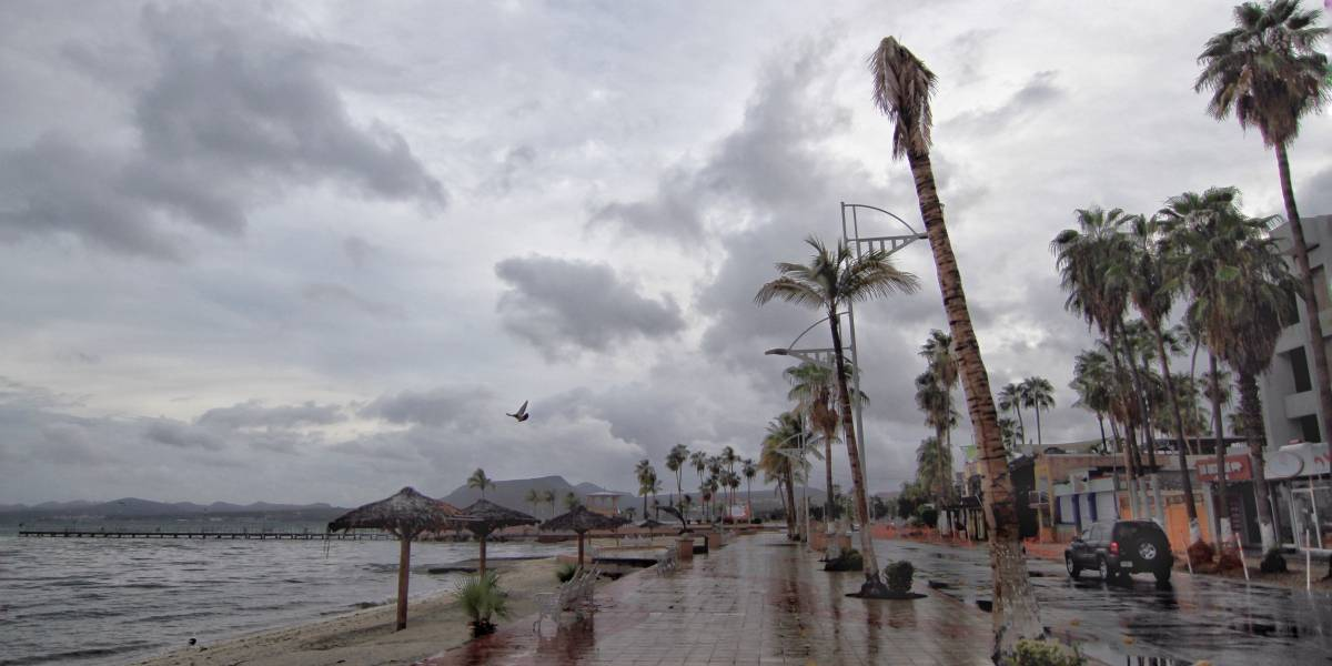 Tormenta tropical 'Norma' provocará lluvias en gran parte del país