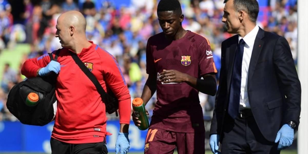 Se confirman los peores temores del Barcelona por la lesión de Dembélé