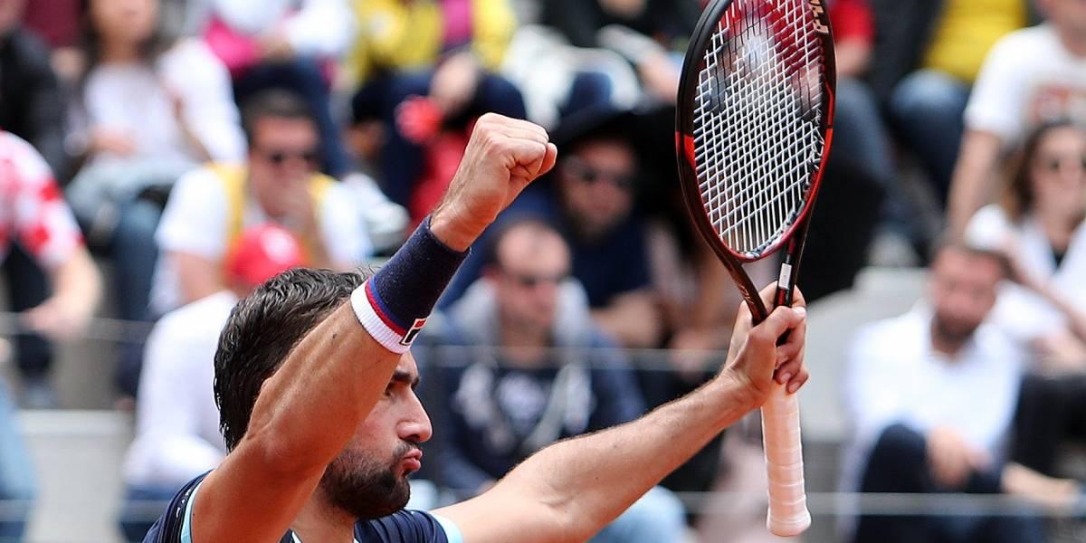 Cilic derrota a Giraldo y Croacia se clasifica al Grupo Mundial de Copa Davis