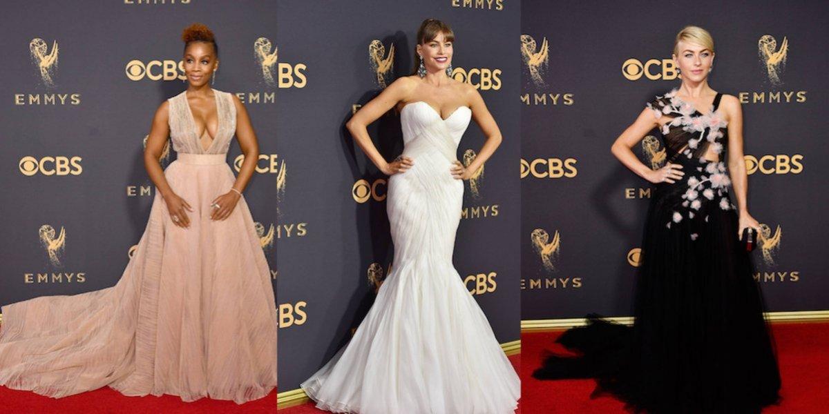 Las actrices más sensuales y extravagantes en la alfombra roja de los  premios Emmy 2017 832b244aacab