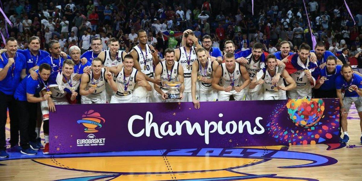 Eslovenia se corona en el Eurobasket