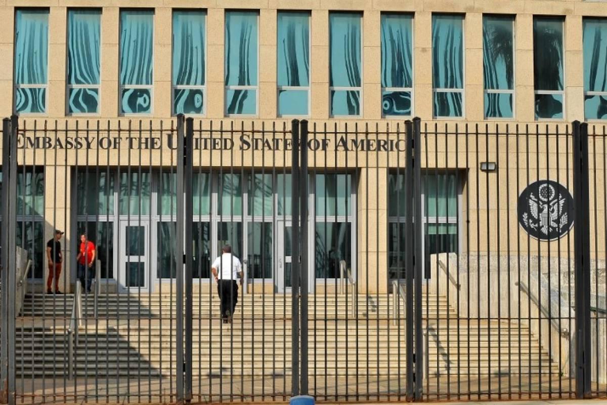 Embajada estadounidense en La Habana, Cuba