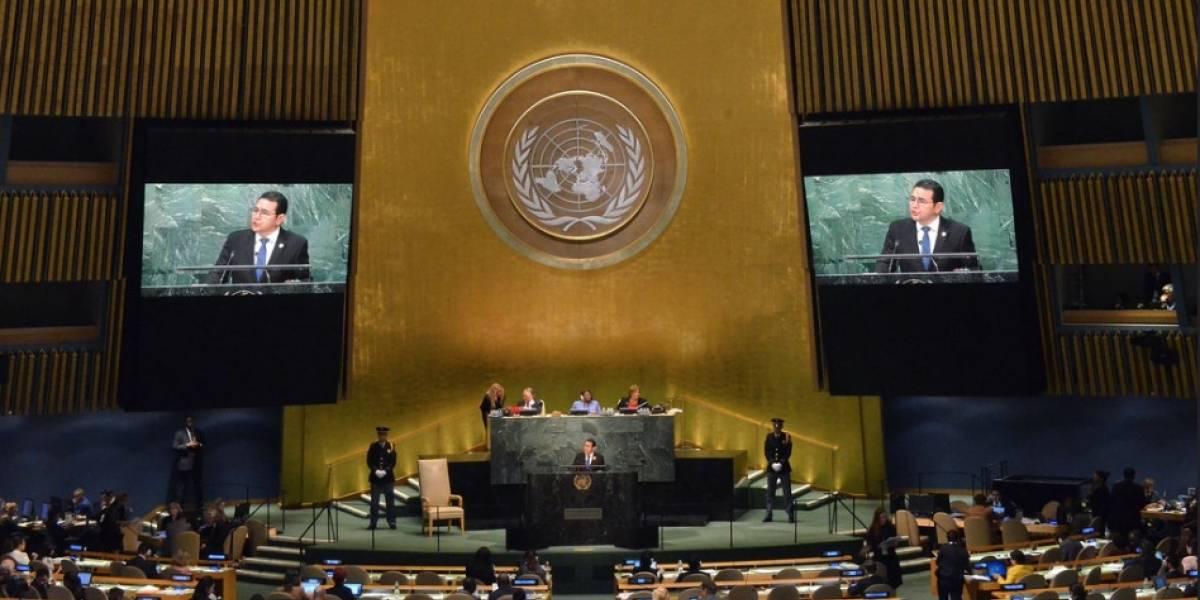 Agenda preliminar de Morales en Nueva York no incluye reunión con secretario de ONU