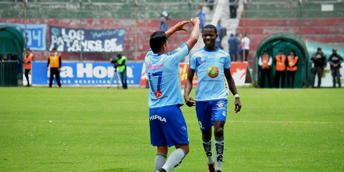 Macará ganó 3-2 a El Nacional
