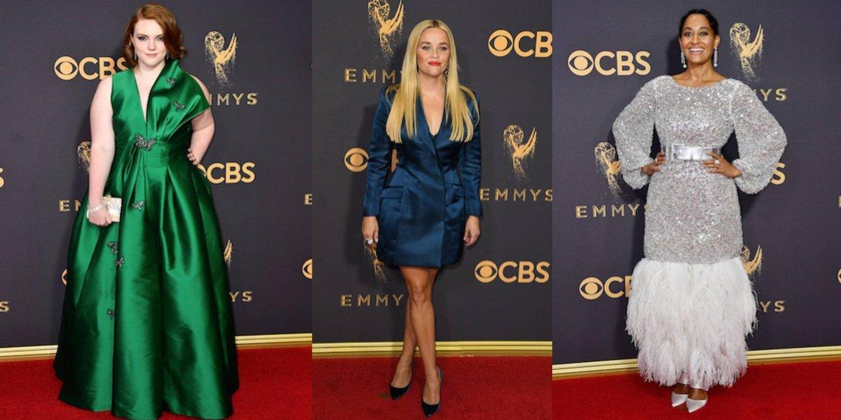 Las peor vestidas de los premios Emmy 2017