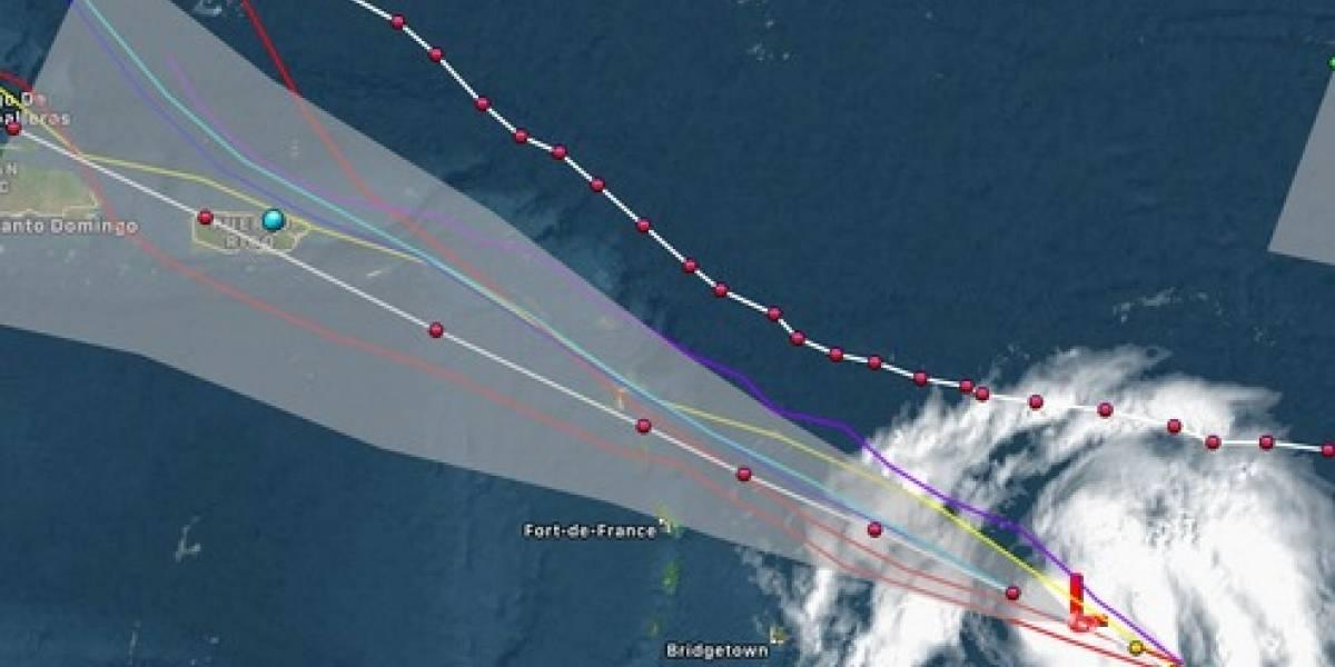 Huracán María alcanza categoría 5 en su paso por el Caribe