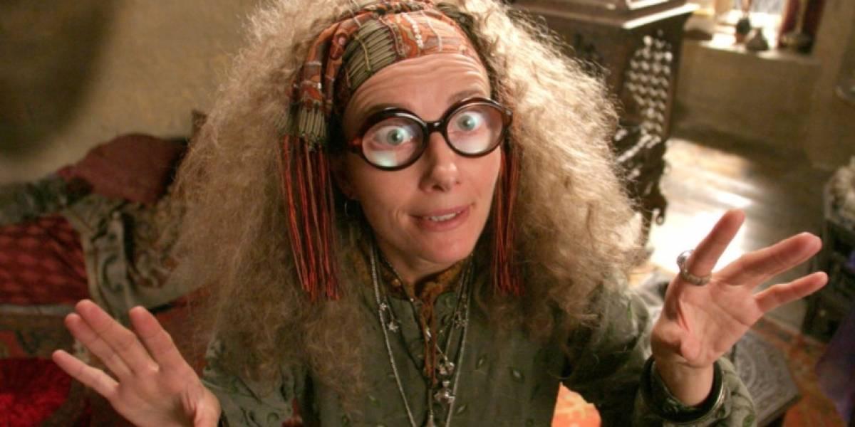 La actriz detrás de Sybill Trelawney de Harry Potter