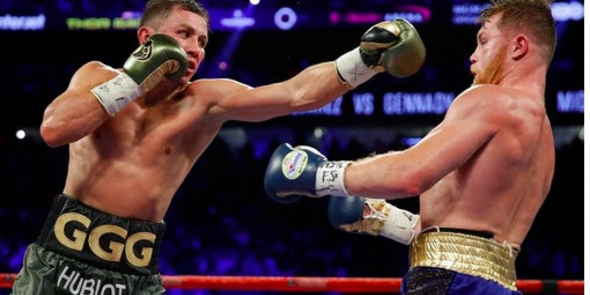 Empate pelea Golovkin vs. Canelo por decisión