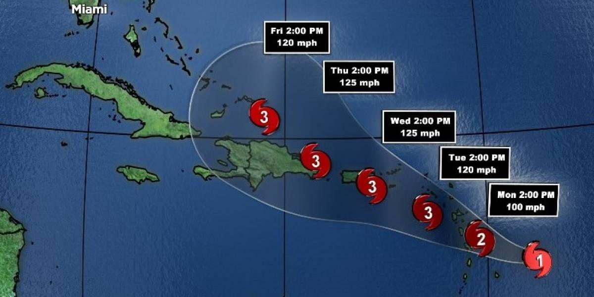 María se fortalece y se convierte en huracán