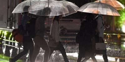 Lluvias provocadas por el tifón Talim, en Japón