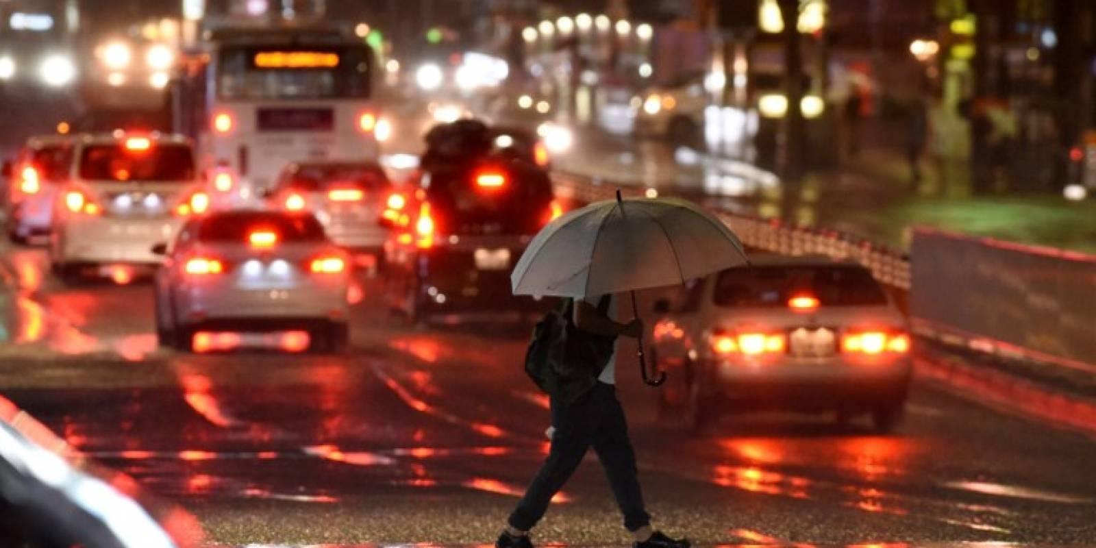 Lluvias en Japón por tifón Talim
