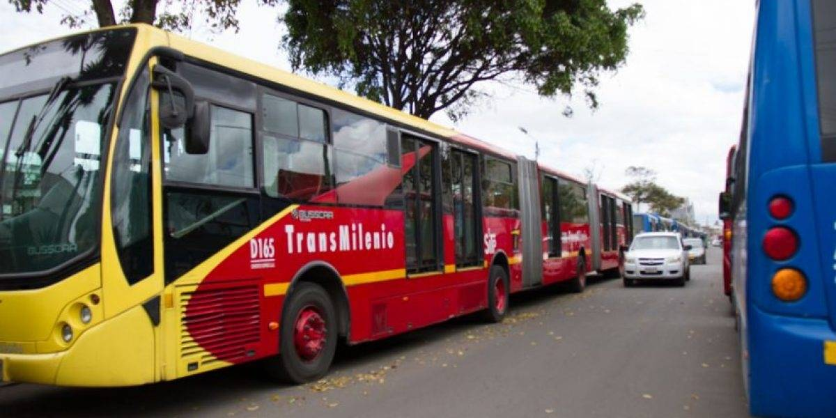 ¡Atención! Afectada la movilidad a esta hora en TransMilenio por la avenida Caracas