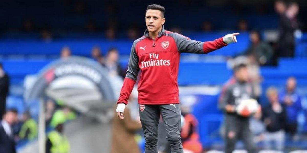"""¿Están locos? En Inglaterra dicen que el Arsenal juega """"mucho mejor"""" sin Alexis"""