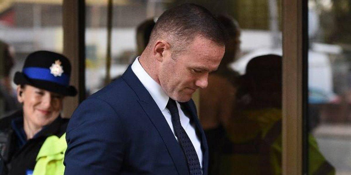 Allá no perdonan: la dura condena a Wayne Rooney tras conducir ebrio en Inglaterra