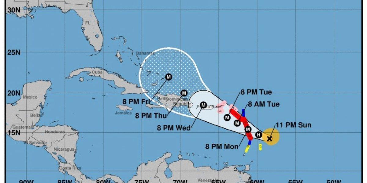 María podría atravesar a Puerto Rico como categoría 4