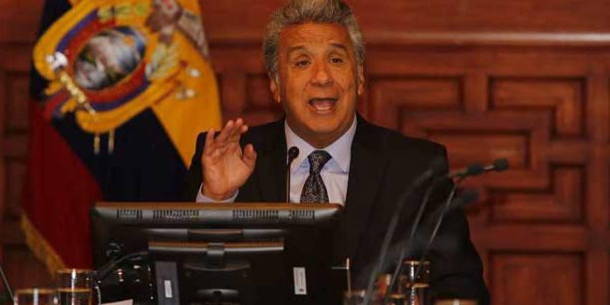 Lenín Moreno habla sobre la lucha contra la evasión fiscal