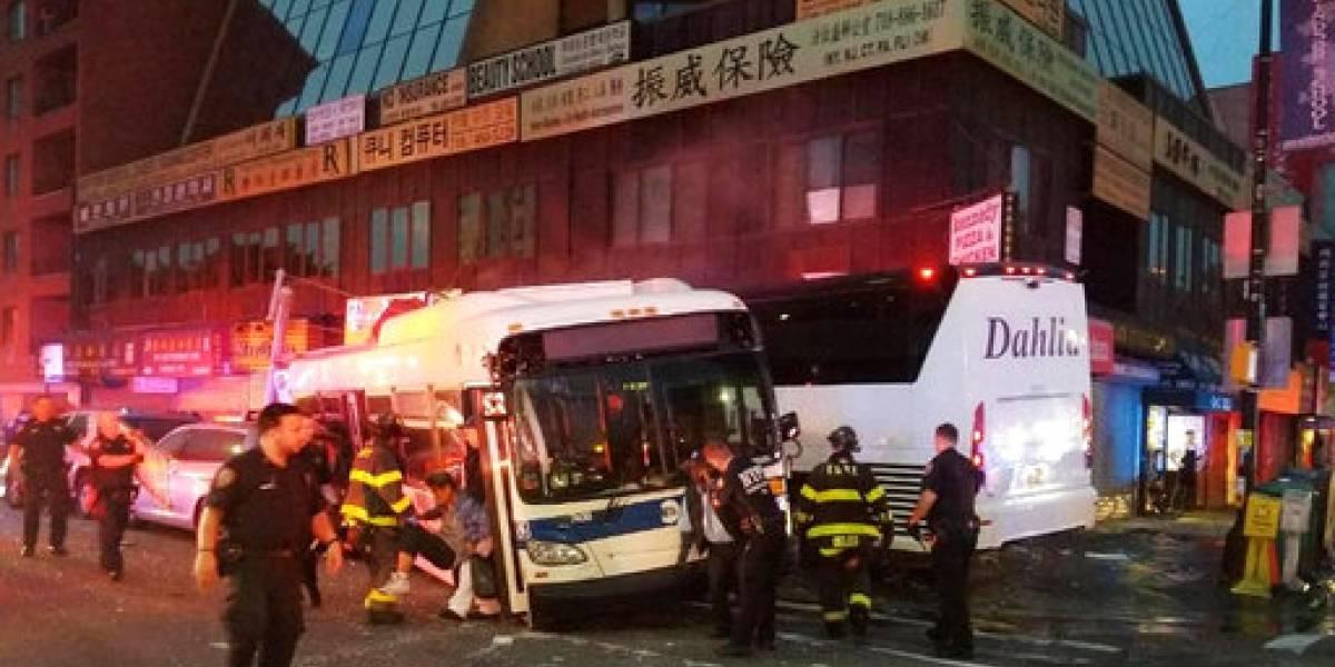 Tres muertos en choque en Nueva York