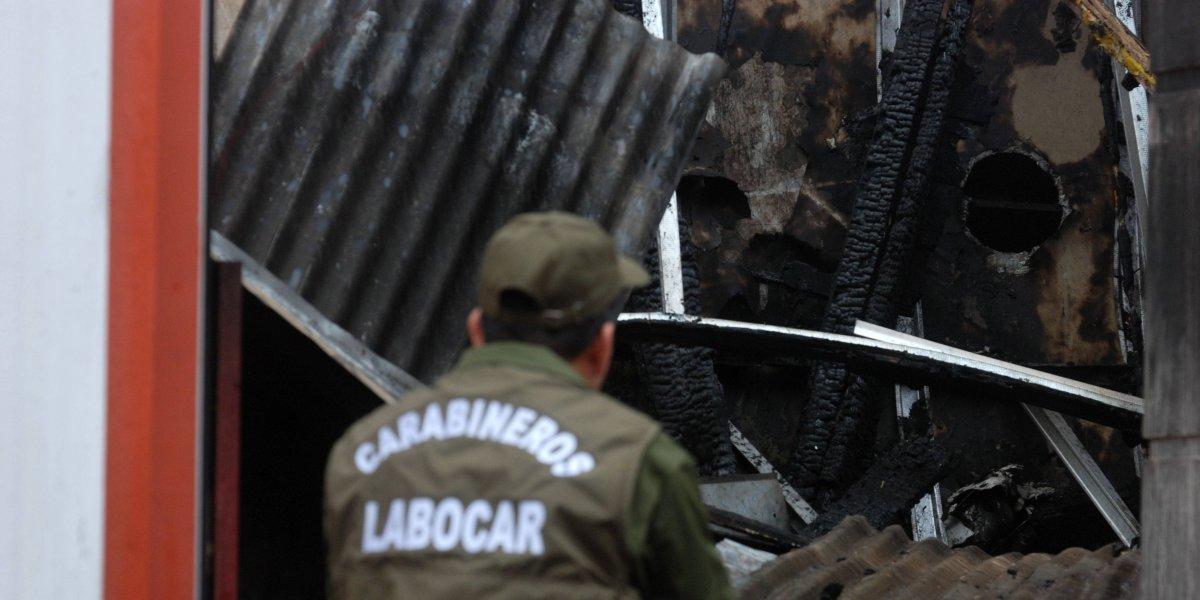 Incendio en Quinta Normal  dejó 30 damnificados y siete casas afectadas