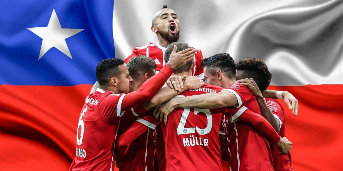 Del Bayern al Liverpool: los grandes del fútbol mundial saludan a Chile por el 18
