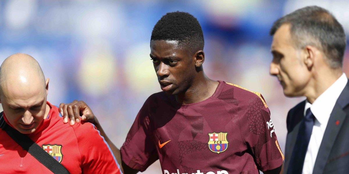 Sin Dembélé, el Barsa busca de nuevo replantear su ataque