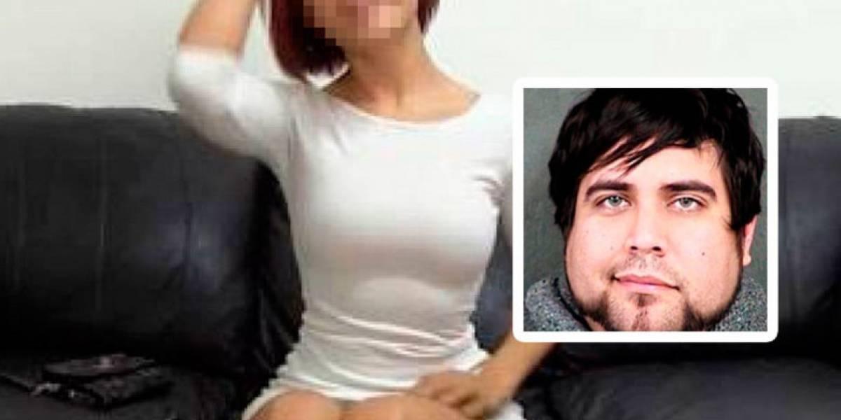 Detienen a hombre que se hacía pasar por productor porno para acostarse con mujeres