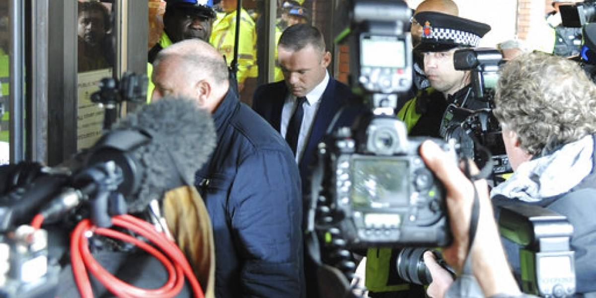 Wayne Rooney se declara culpable