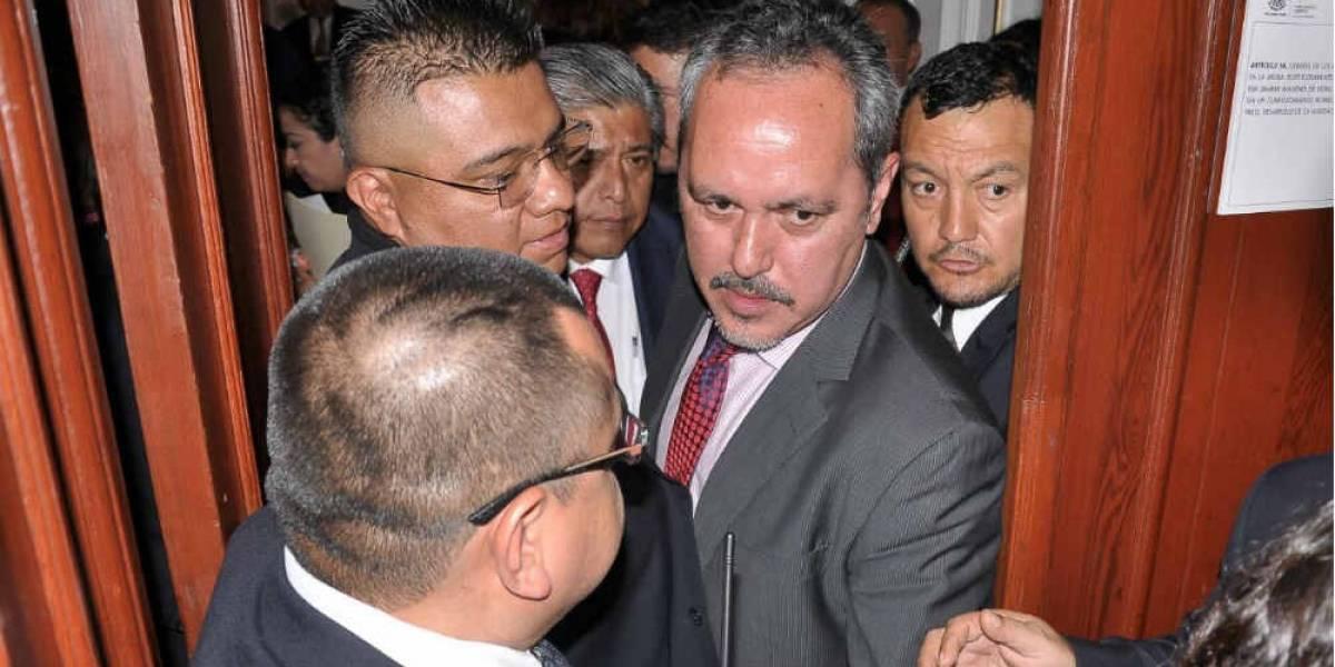 Presenta delegado de Tláhuac 300 pruebas de su inocencia ante ALDF