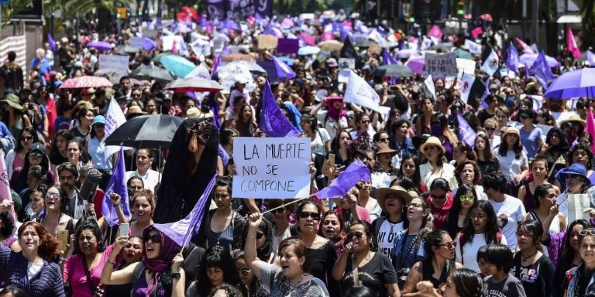 Mujeres identifican a presunto agresor sexual durante marcha por Mara Castilla