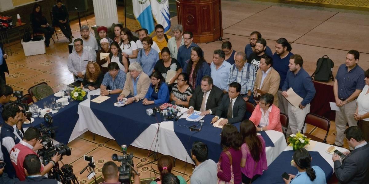 Los 5 aspectos del #ParoNacional en contra del presidente Jimmy Morales