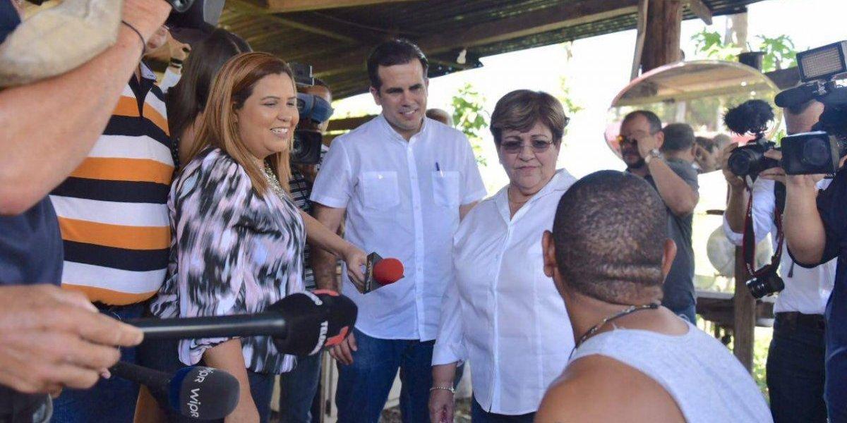 Rosselló visita Ponce como parte de los preparativos ante el paso del huracán María