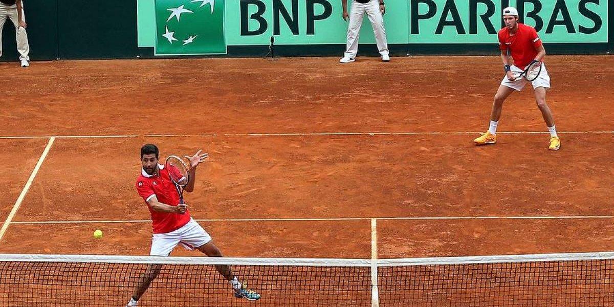 El durísimo panorama de Chile en la Copa Davis 2018: no será cabeza de serie y podría jugar con Argentina