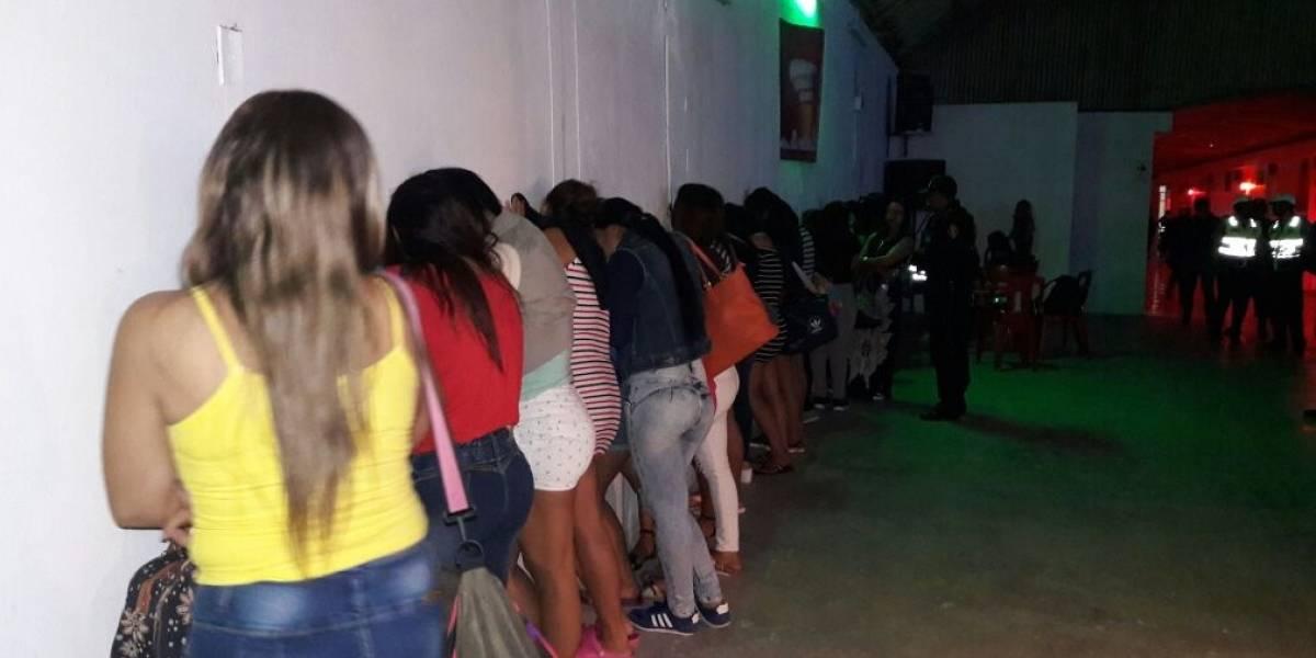 Rescatan a 28 ecuatorianas víctimas de trata de personas en Perú