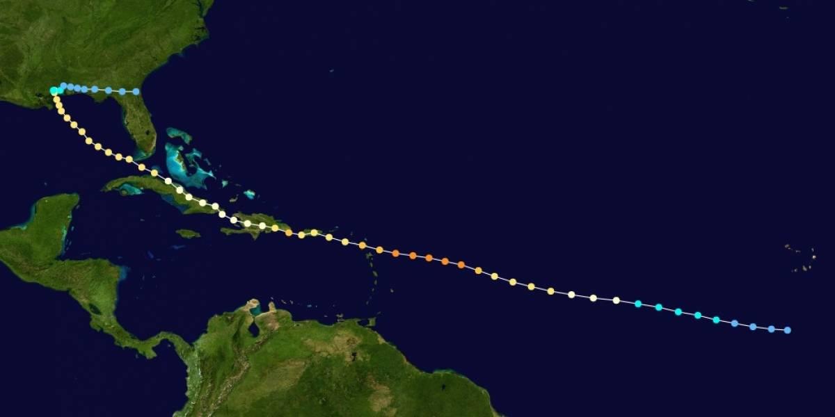 ¿Cuál fue el último huracán que entró directamente a Puerto Rico?