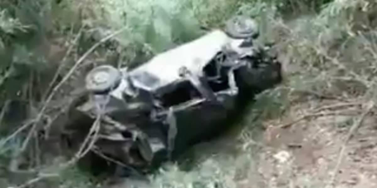 5 fallecidos y 7 heridos tras accidente de tránsito en Bolívar