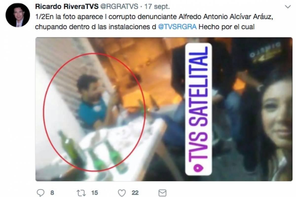 Twitter Tuits entre Ricardo Rivera y Dalo Bucaram