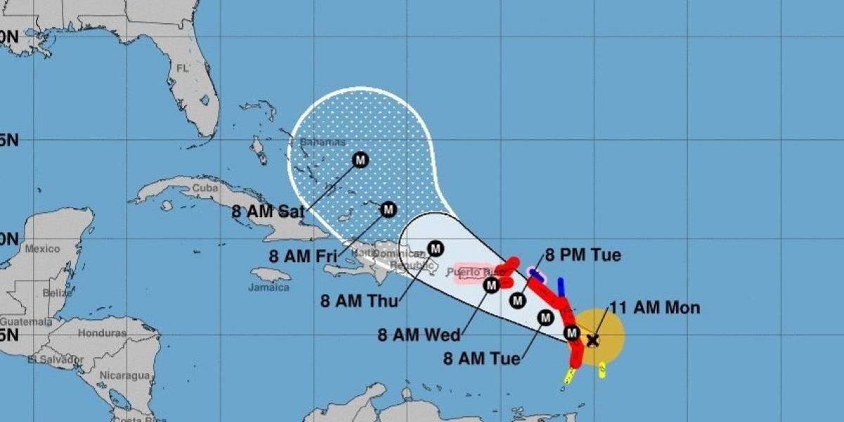 """María se convierte en """"peligroso"""" huracán categoría 4 en camino a Dominica"""