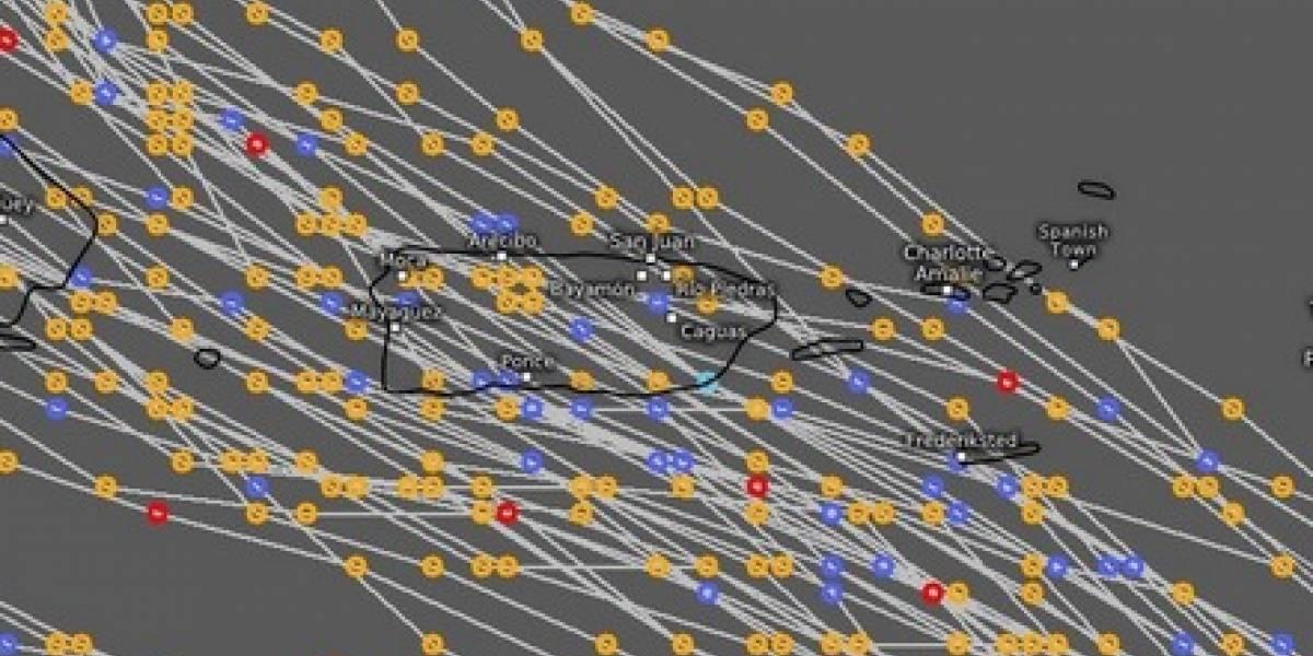 Meteorólogo muestra imagen que lo tiene preocupado con huracán María