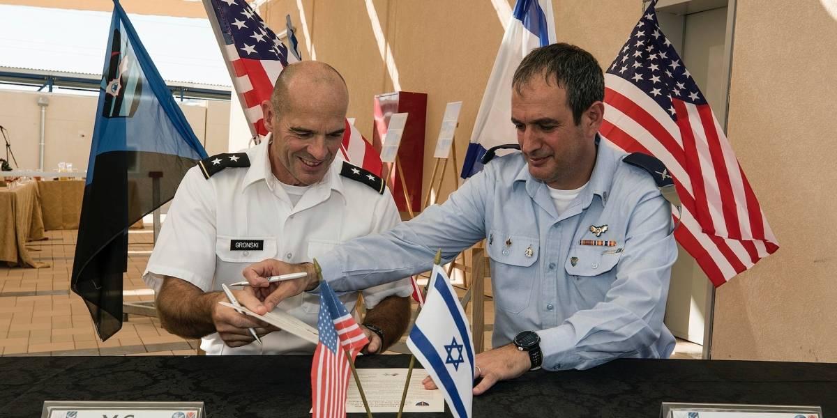 Abren primera base militar de EEUU en Israel