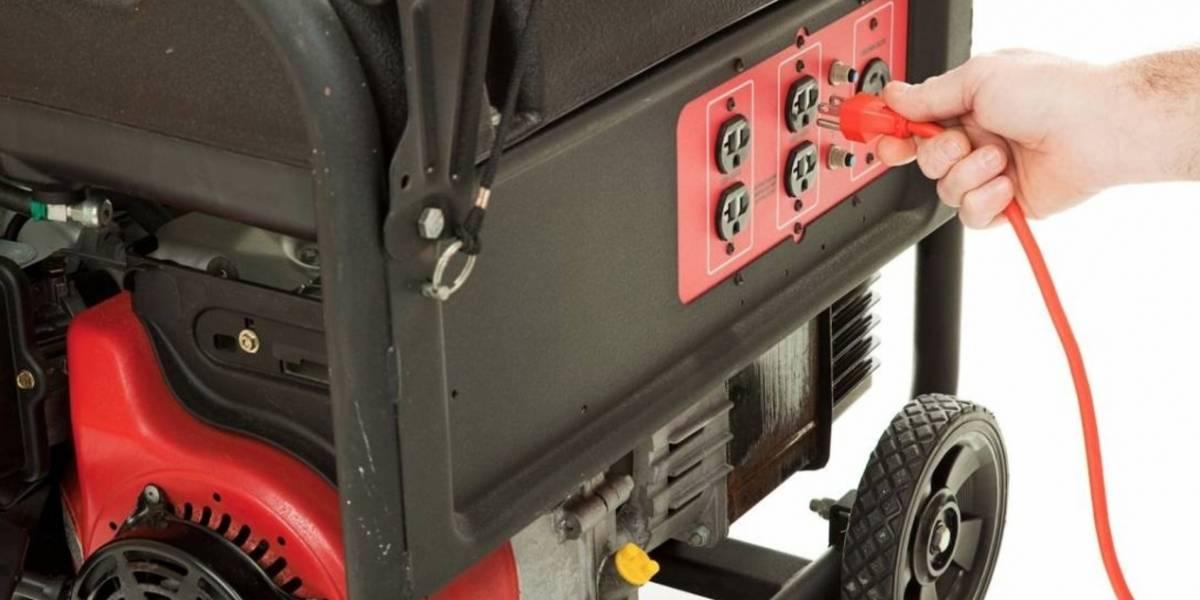Advierten sobre uso correcto de generadores eléctricos