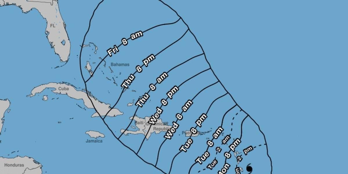 Huracán María ya es categoría 4 en su ruta a Puerto Rico