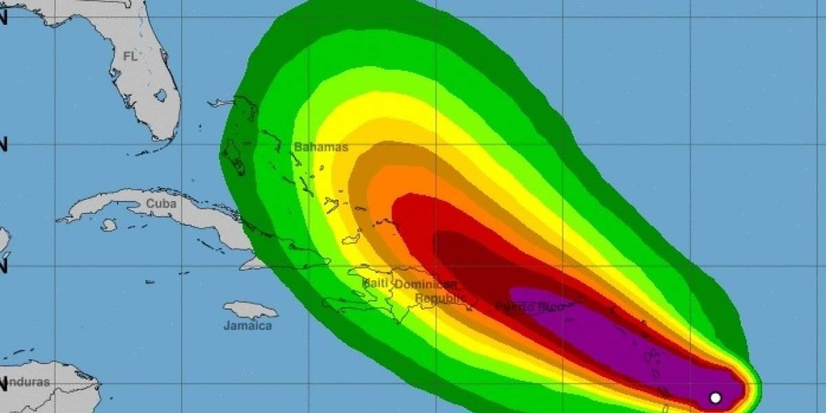 María provoca vigilancia de huracán para Puerto Rico, Vieques y Culebra