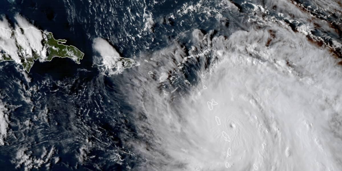 Huracán María ya tocó tierra en Dominica