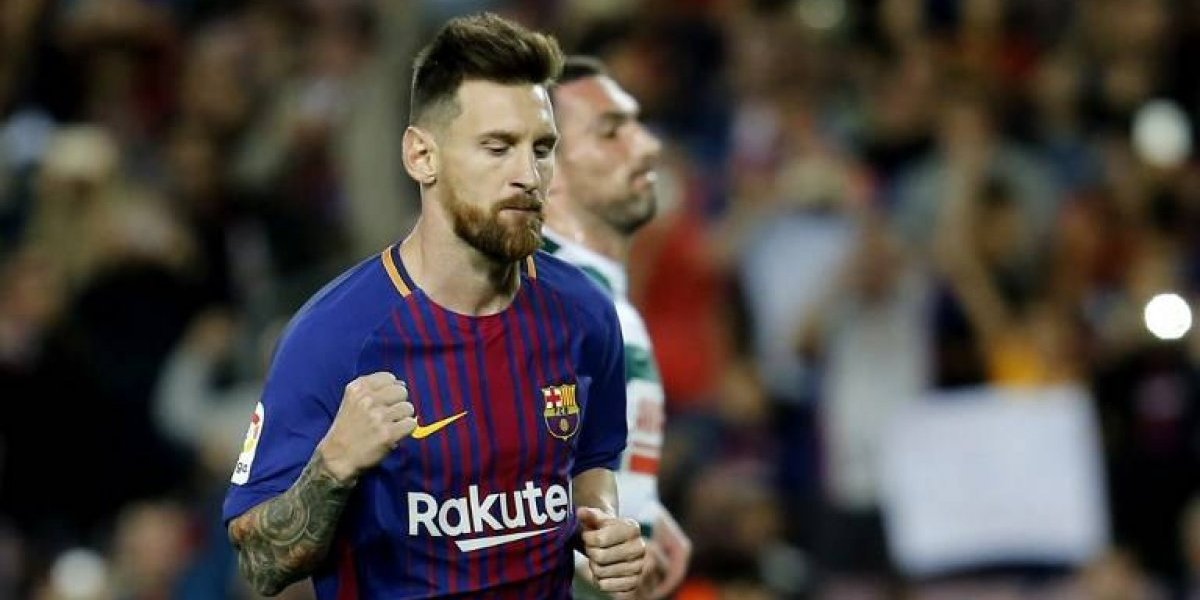 Barcelona mantuvo su arranque perfecto en la Liga con un póker de Messi