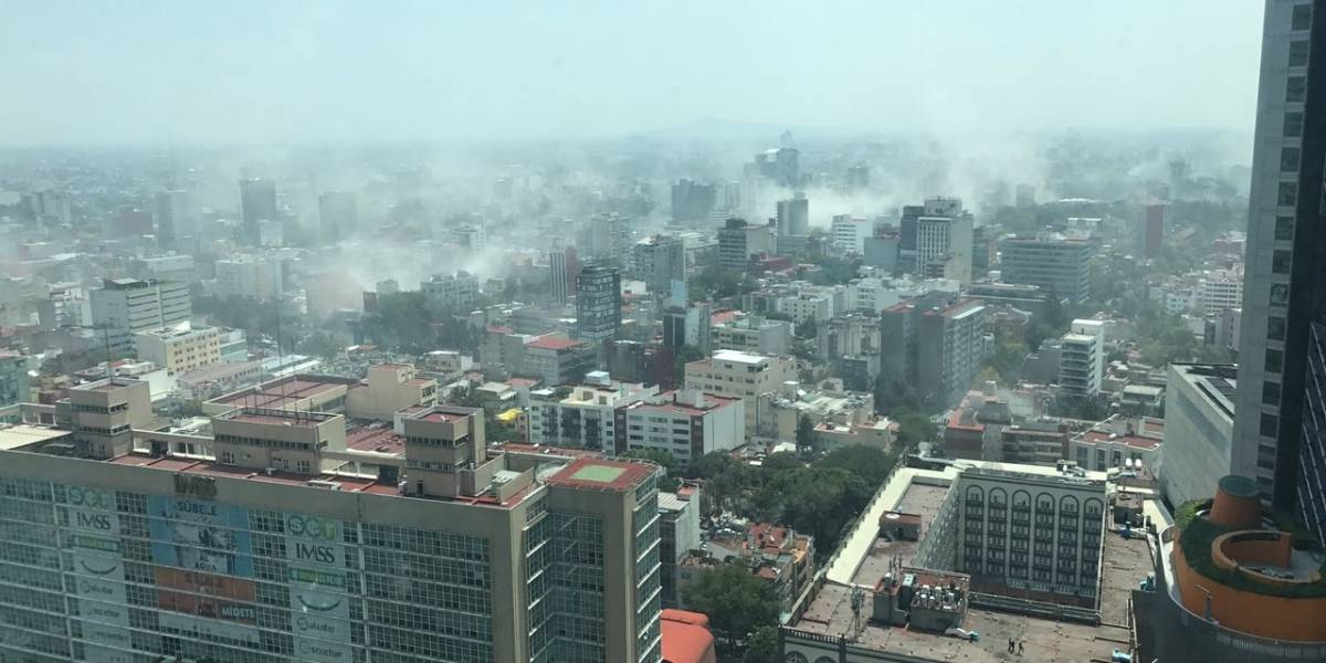 Fotos: Así quedó México después del terremoto