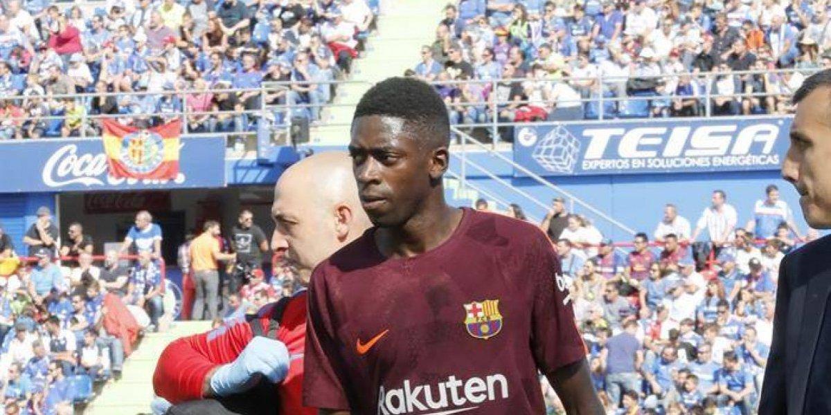 Ousmane Dembélé fue operado con éxito y será baja entre tres a cuatro meses en Barcelona