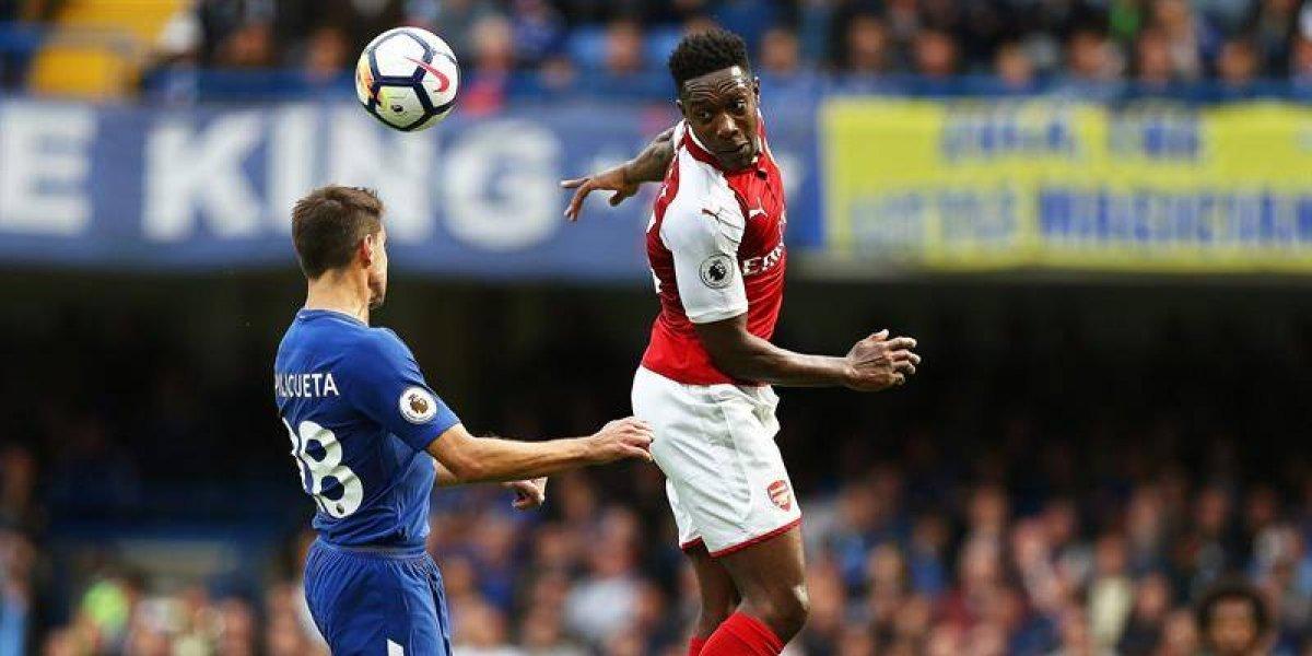 Arsenal sufre la baja de Danny Welbeck quien estará un mes fuera de las canchas