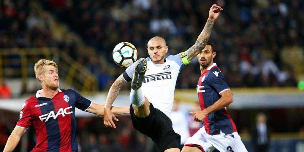 Mauro Icardi salvó a Inter gracias a un polémico penal