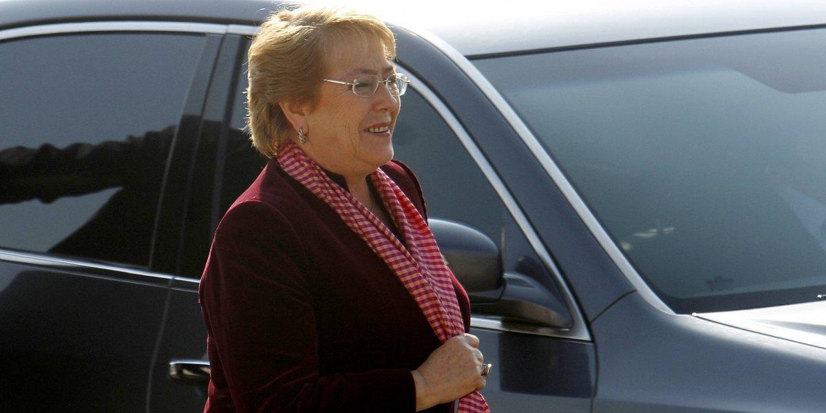 """Bachelet a mexicanos: """"Saben que pueden contar con el apoyo de Chile siempre"""""""